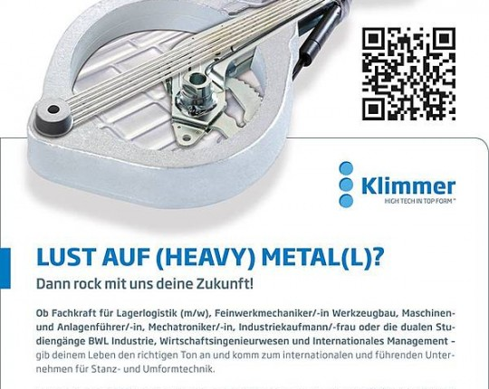 bewerbung heavy metal beruf