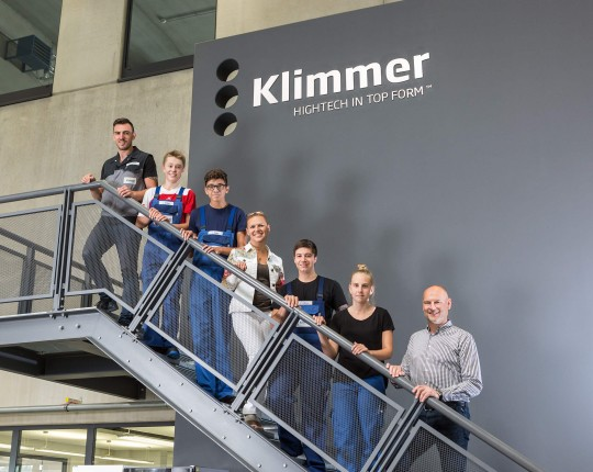 Klimmer Auszubildende Lehrjahr 2018