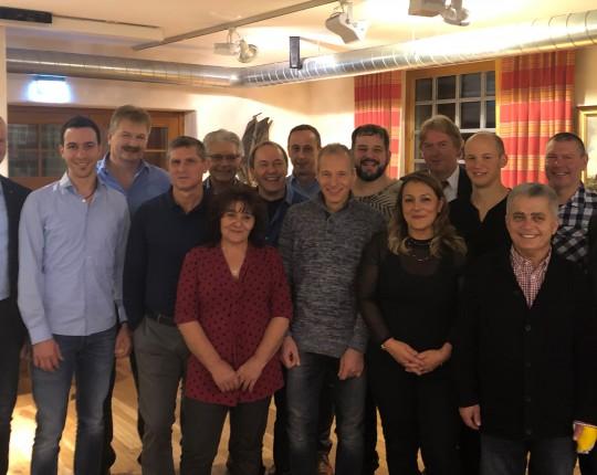 Jubilare 2018 bei Klimmer
