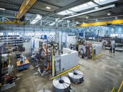 machine fleet fine blanking presses