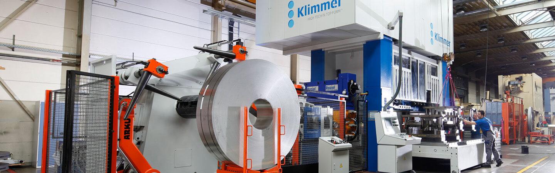 production 1000 tonnes compressive force