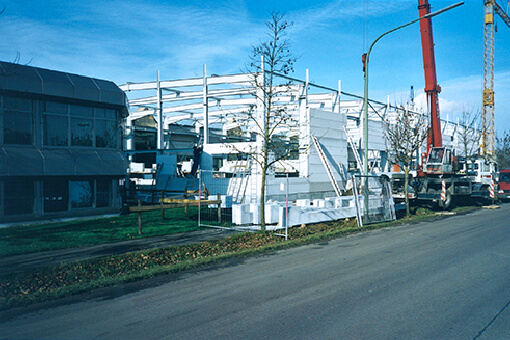 klimmer 2001 extension production hall burgau