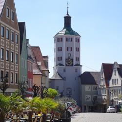 Günzburg.Kreisstadt im schwäbischen Landkreis Günzburg.
