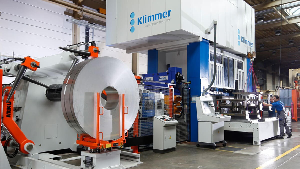 production machine fleet press compressive force